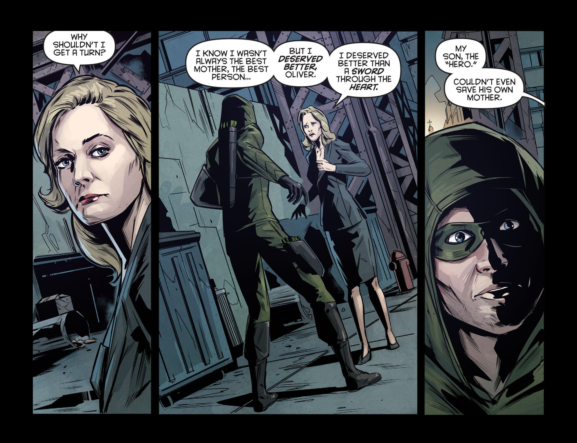 Read online Arrow: Season 2.5 [I] comic -  Issue #7 - 11