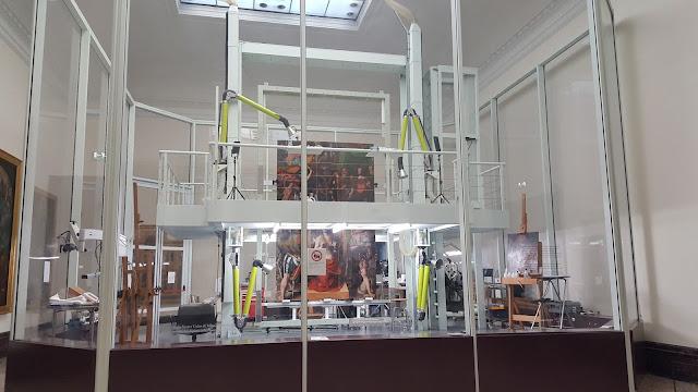 Oficina de restauração da Pinacoteca de Brera
