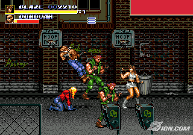 My life is totally like Streets of Rage!
