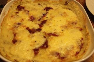 Organic gluten-free croque-monsieur