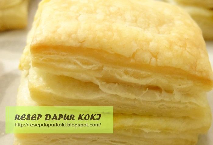 puff pastry,resep puff pastry,cara membuat puff pastry