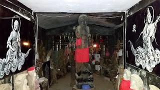 人文研究見聞録:石手寺のマントラ洞窟 [愛媛県]