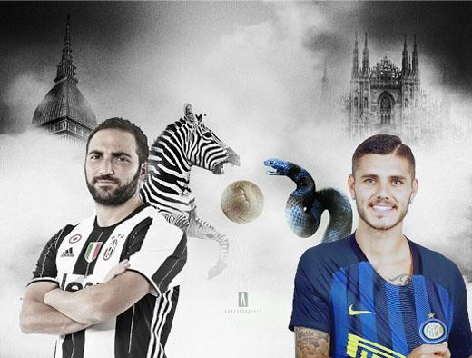 LIVE Tweets - Juventus-Inter