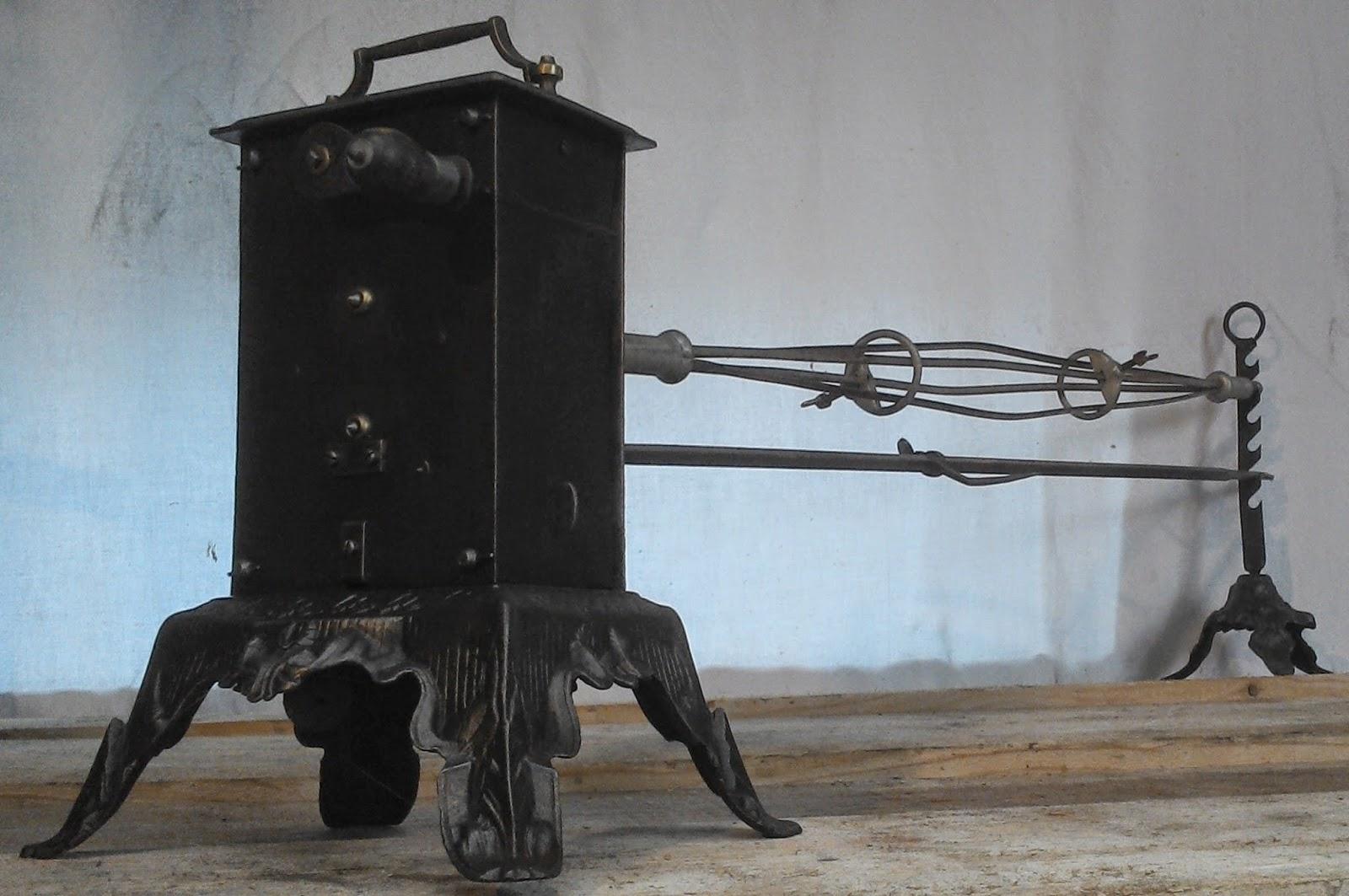 tourne broche panier ancien broche parapluie capucin style empire 2. Black Bedroom Furniture Sets. Home Design Ideas