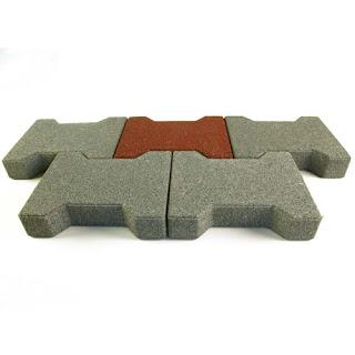 Greatmats Dog Bone Outdoor Paver Tiles horse barn aisles
