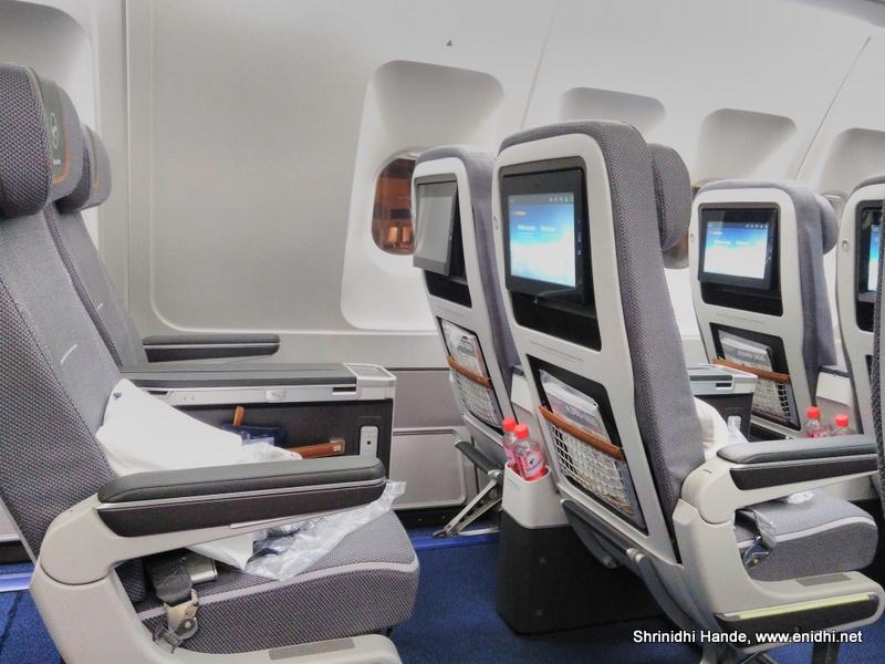 Lufthansa Airline Premium Economy Experience Enidhi