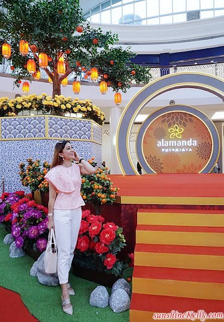 CNY 2019, A Blossoming Day,  Alamanda Shopping Centre, Alamanda CNY Decor, shopping centre, mall decor, cny mall decor, malaysia shopping mall decor, lifestyle