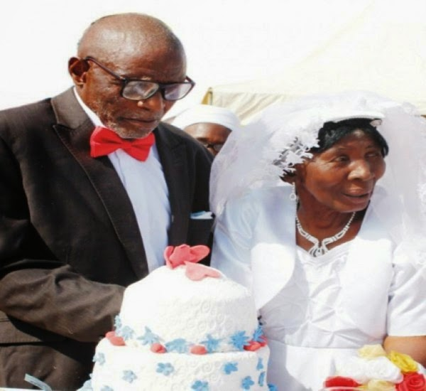 107 year old nigerian man wedding