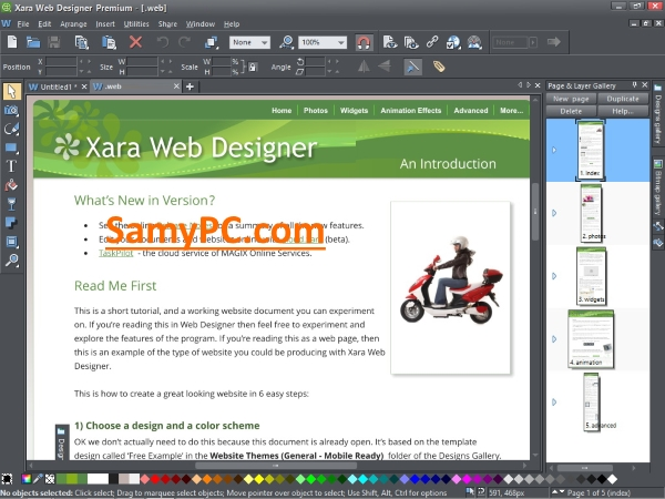 Xara Web Designer Premium Free Download Full Latest Version