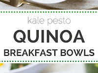 Savory Pesto Quinoa Breakfast Bowls Recipe