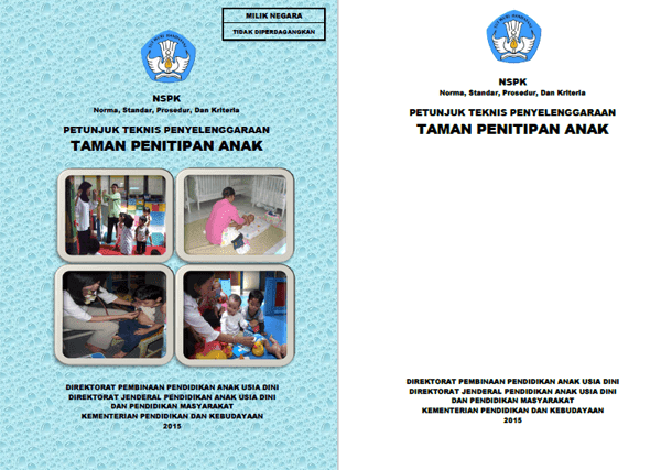 Berikut ini adalah berkas Juknis Penyelenggaraan Taman Penitipan Anak  Juknis Penyelenggaraan Taman Penitipan Anak (TPA)