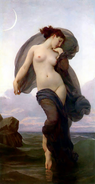 Quadro William-Adolphe Bouguereau, Evening mood