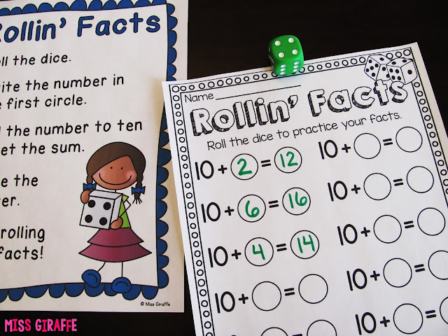 Adding 10 to a number games and activities that make adding fun easy and hands on