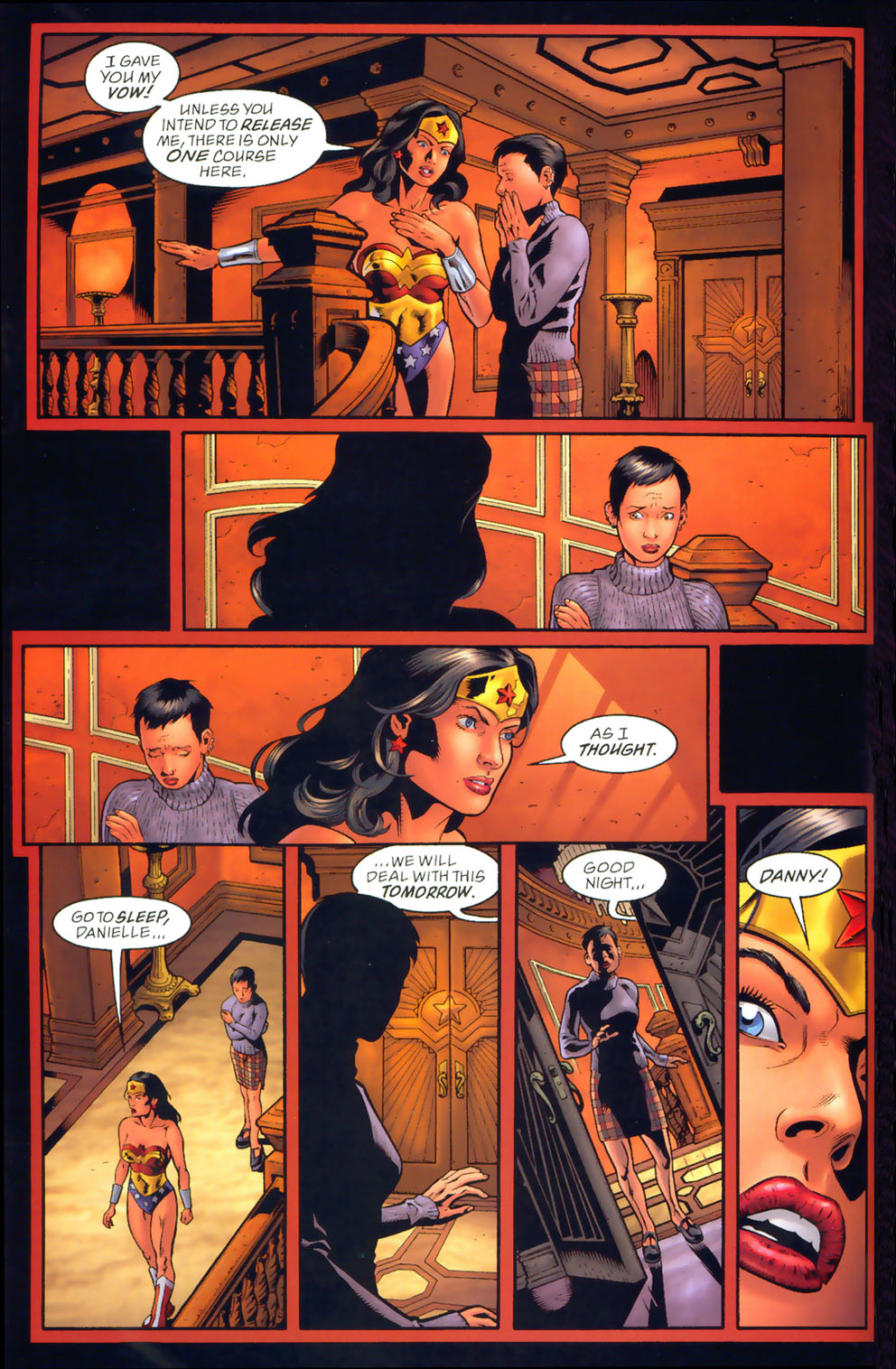 Read online Wonder Woman: The Hiketeia comic -  Issue # Full - 70