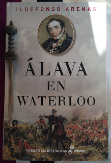 Portada del libro Álava en Waterloo, de Ildefonso Arenas