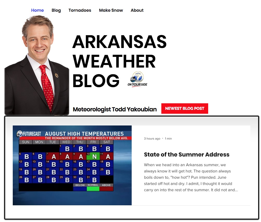 channel 7 news arkansas weather