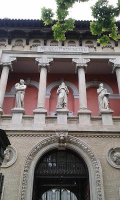 Fachada Museo Provincial de Zaragoza
