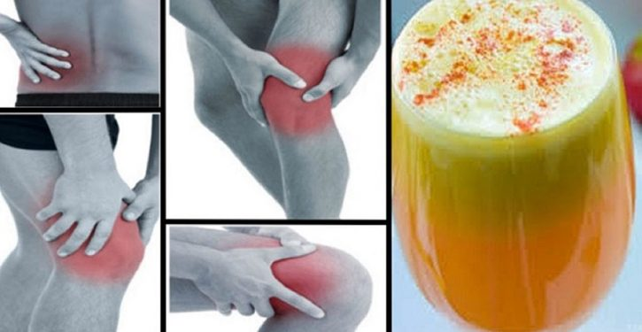 Say Goodbye To The Pain In Your Joints, Your Legs And Your Spine With This Lemon Pineapple Juice