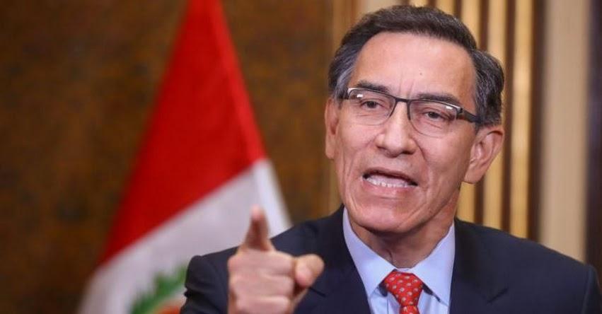 ¿RENUNCIÓ VIZCARRA? El presidente de la República Martín Vizcarra se pronunció: «No voy a renunciar, yo no me corro»