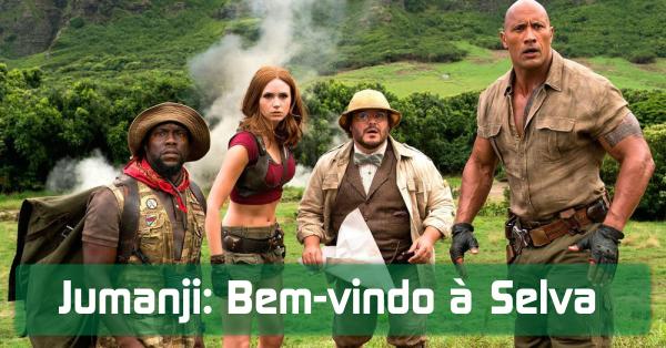 Como assistir Jumanji: Bem-vindo à Selva Dublado!