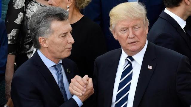 EEUU expresa su apoyo a la decisión de Macri de recurrir al FMI