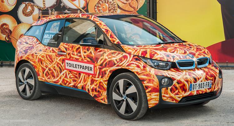 Don't Call This Spaghetti-Look BMW i3 An Art Car