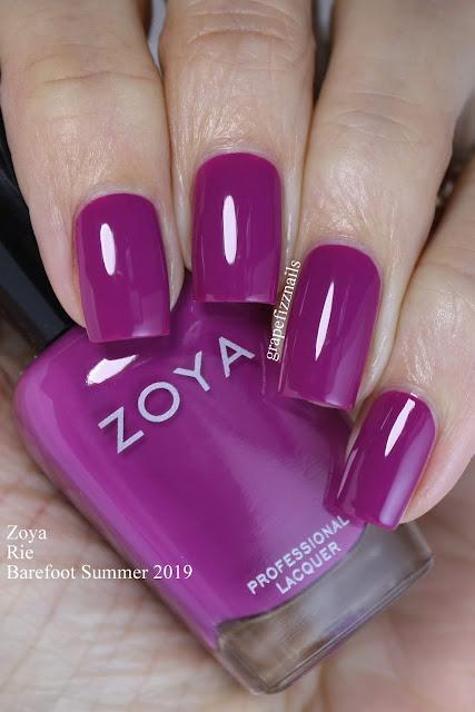 Zoya Rie Barefoot Summer 2019
