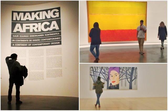 Exposicion Making Africa – Exposicion Alex Katz – Exposicion Obras Maestras de la Colección del Museo Guggenheim Bilbao, Sin titulo de Mark Rothko