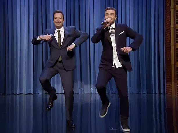 Justin Timberlake and Jimmy Fallon perform History Of Rap part 5 on The Tonight Show