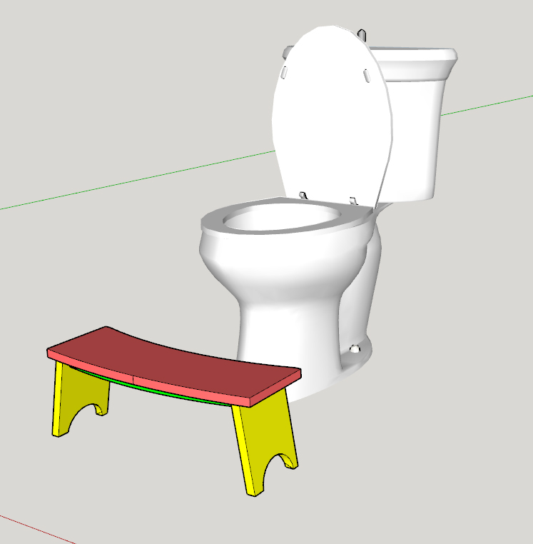 Easy Diy Squatty Potty: Timbo's Creations: DIY Squatty Potty