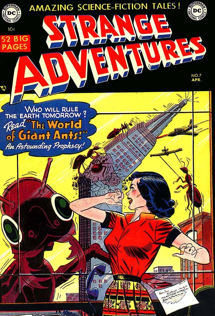 Strange Adventures (1950) issue 7 - Page 1