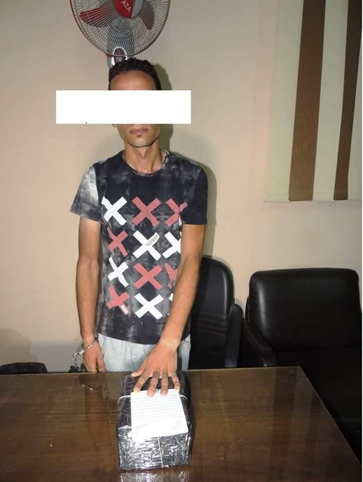 القبض على عاطل بحيازته مواد مخدره بقصد الاتجار
