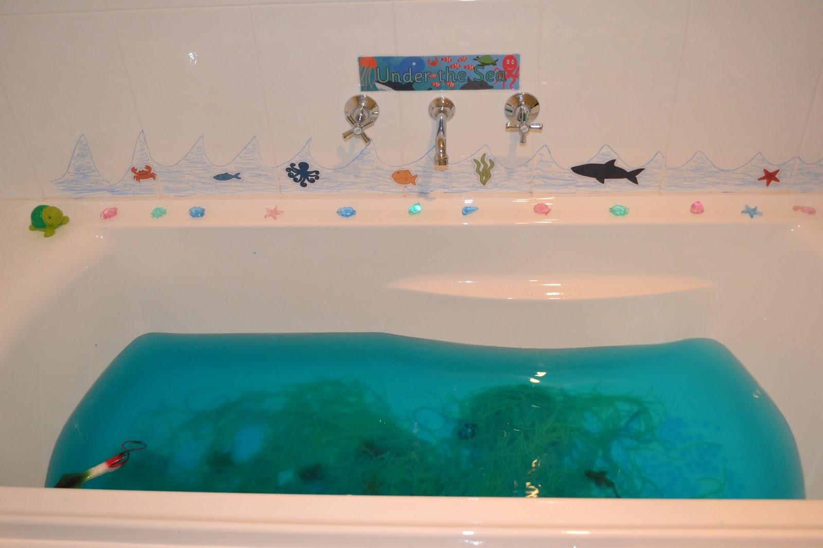 ... Under The Sea Sensory Bath Play - Under the Sea Bathroom ...