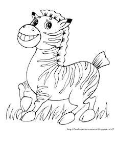 Gambar Anak Zebra Lucu