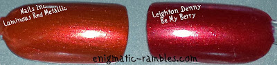 Nails-Inc-Luminous-Red-Metallic-333-V's-dupe-Leighton-Denny-Be-My-Berry