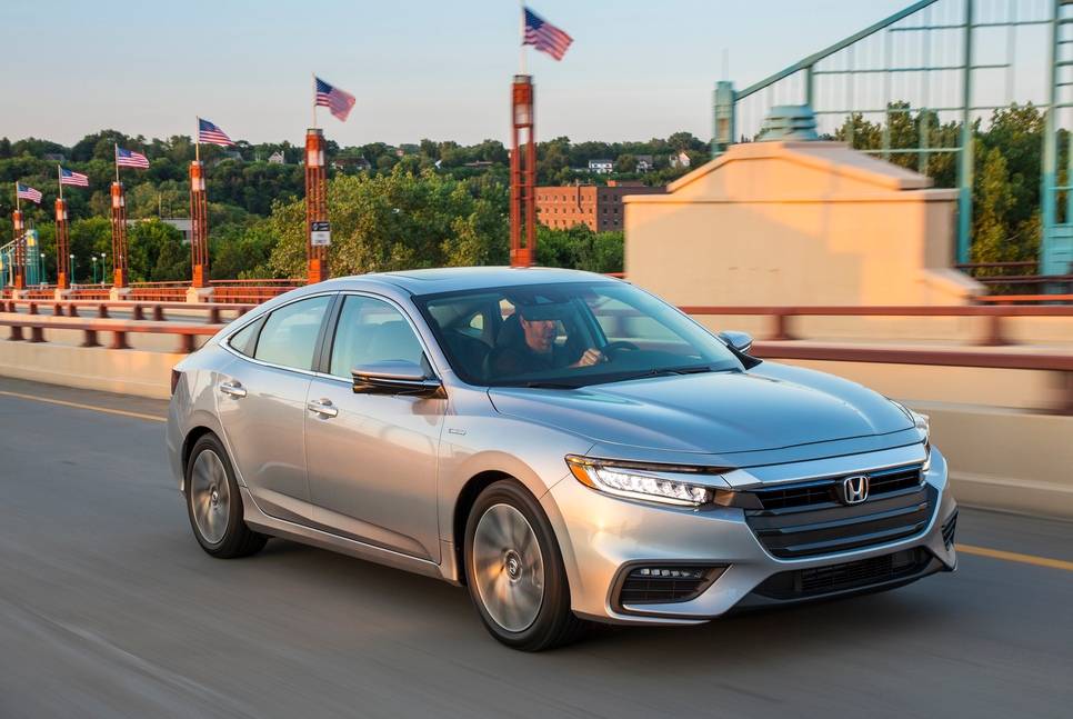 2019 Honda Insight Hybrid goes on sale