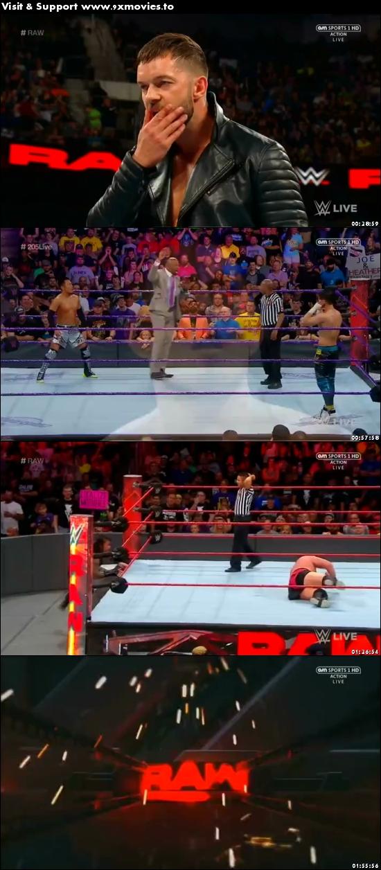 WWE Monday Night Raw 19 June 2017 HDTV 480p 500mb