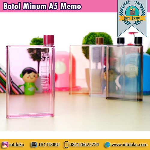 Botol Minum A5 Memo
