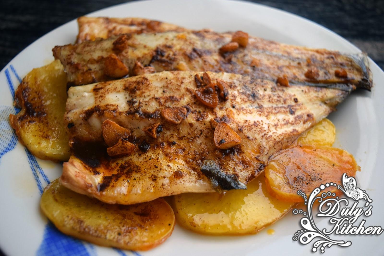 Dulys Kitchen Lubina A La Espalda