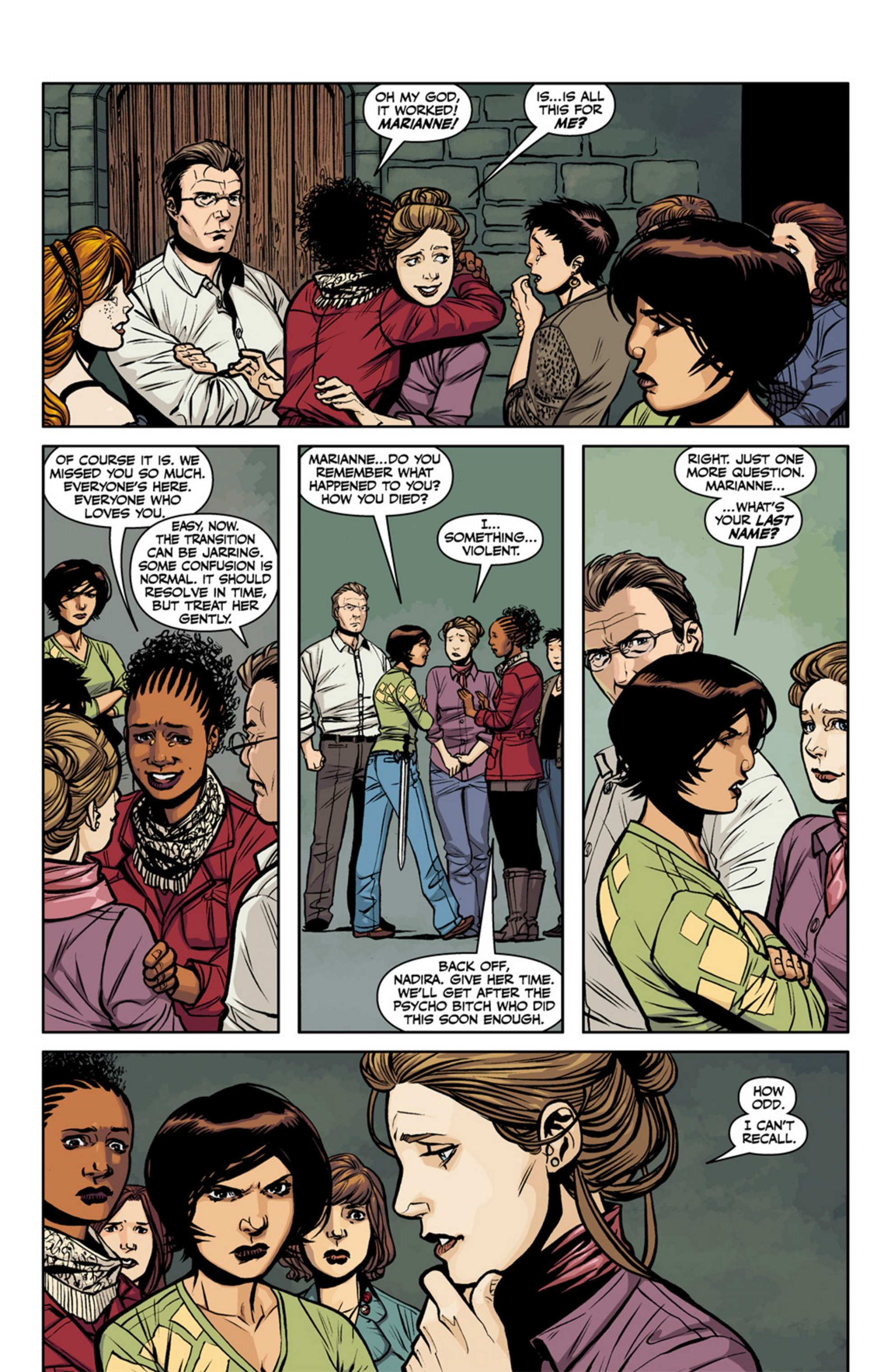 Read online Angel and Faith comic -  Issue #17 - 17