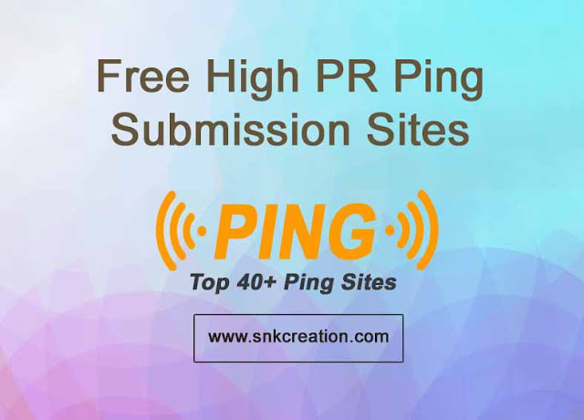 free top high da ping submission sites