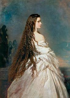 Portrait d'Elisabeth de Bavière (Sissi)