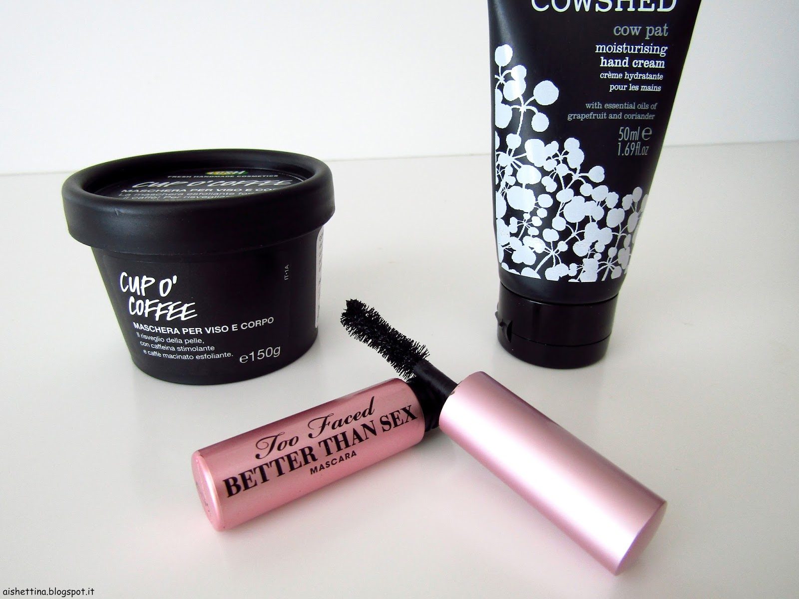 Lush, Too Faced, Cowshed