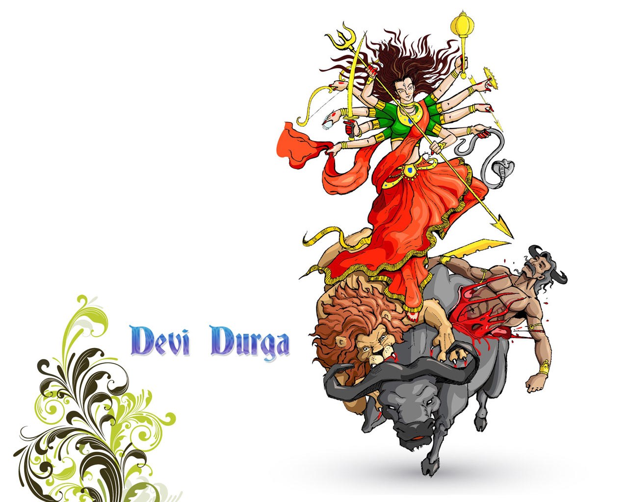 Durga puja wishessms messages greetings kristyandbryce Images