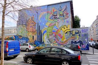 Sunday Street Art : dAcRuZ - Ourcq Living Colors - rue Germaine Tailleferre - Paris 19