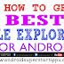 HOW TO GET BEST FILE EXPLORER APP FOR ANDROID MOBILE | ANDROID SUPERSTARS