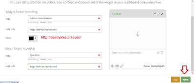 Cara Memasang Live Chat diBlogger5
