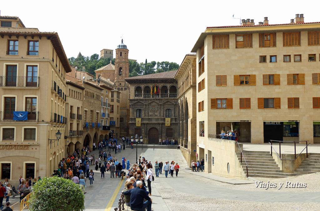 Plaza España de Alcañiz, Teruel