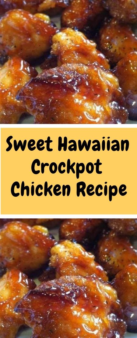Sweet+Hawaiian+Crockpot+Chicken+Recipe