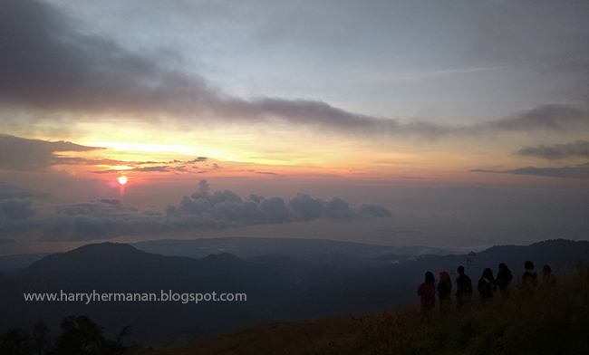 Soft Trekking di Bukit Nanggi, Sembalun, Lombok Timur